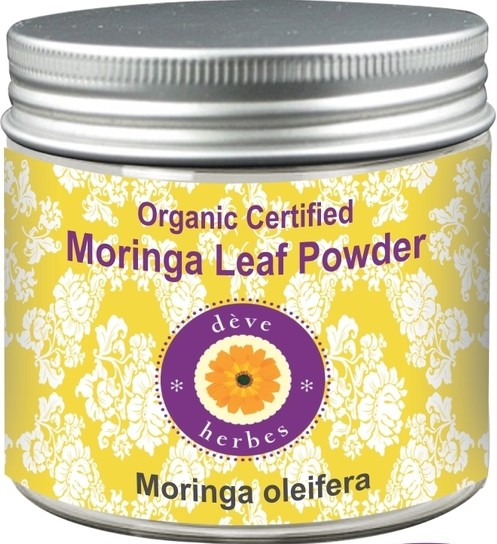 Deve Herbes Moringa Leaf Powder - Moringa oleifera(200 g)