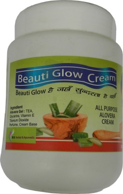 BGI Herbal & Ayurvedic Beauti Glow All Purpose Mix Fruit Cream- Aloe Vera