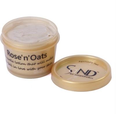 SaND for Soapaholics Rose,n,Oats Body Cream