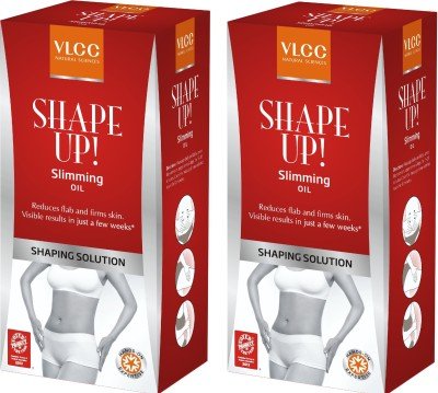 VLCC Shape Up Slimming Oil New 100ml (Pack Of Two)(200 ml)