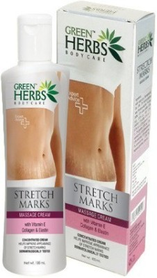 Green Herbs Stretch Marks Massage Cream