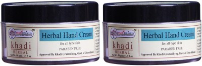 Khadi Rishikesh Herbal Natual Hand Cream Pack of 2(100 g)