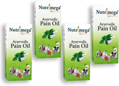 Nutrimega Ayurvedic pain relief oil (45ml x 4)