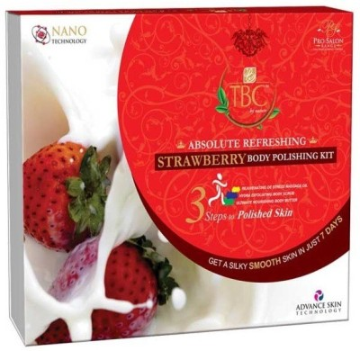TBC by Nature Absolute Refreshing Strawberry Body Polishing Kit