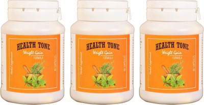 Health Tone HealthTone Health Tone Herbal Weight Gain Capsules (90 Caps) (500 g) (Pack of 3)(500 g) at flipkart