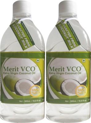 Merit VCO Extra Virgin Coconut Oil Pack of 2
