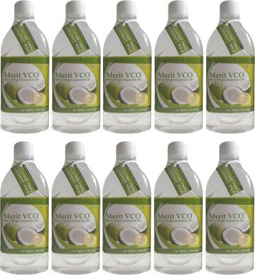 Merit VCO Extra Virgin Coconut Oil Pack of 10