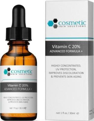 Cosmetic Skin Solutions LLC Vitamin C 20% Serum + Ferulic Acid & Hyaluronic Acid