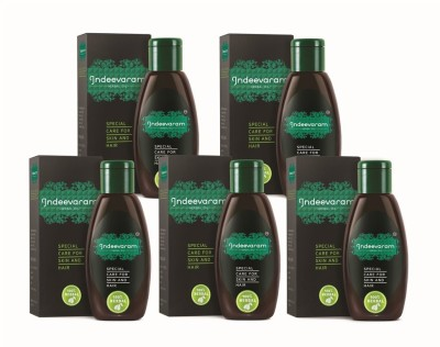 Indeevaram Special Care for Skin and Hair - 100ml x 5
