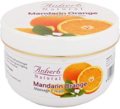 Anherb Combo of Mandarin Orange Massage Cream (Pack of 3)