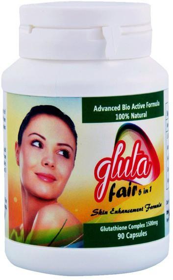 Gluta Gluta fair 5 in 1 1500 Mg 90 Capsules(90 g)