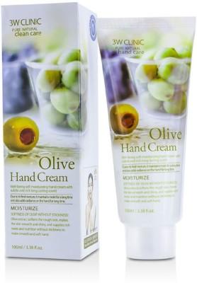 3W Clinic Hand Cream - Olive