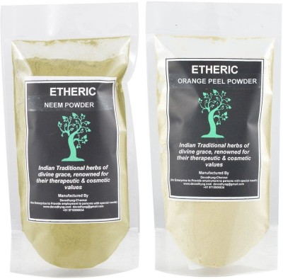 Etheric Neem Powder + Orange Peel ( Twin Pack)