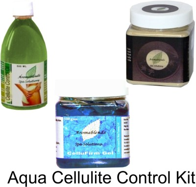 Aromablendz Anti Cellulite Kit - AQUA
