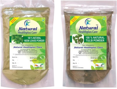 Natural Healthplus Care Neem Tulsi Powder Combo