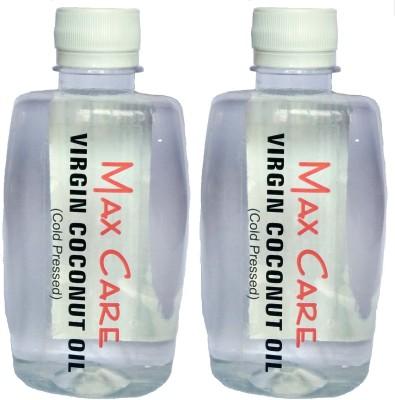 Maxcare Virgin Coconut Oil 500ml (Pack of 2 - 250ml each)