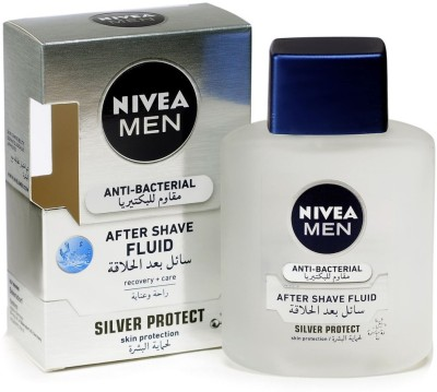 Nivea Men Silver Protect Anti-Bacterial After Shave Fluid
