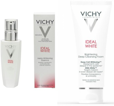 Vichy Ideal White Meta Whitening Essence 30ml & Cleasner 100ml Combo Offer (Promotion Discount)