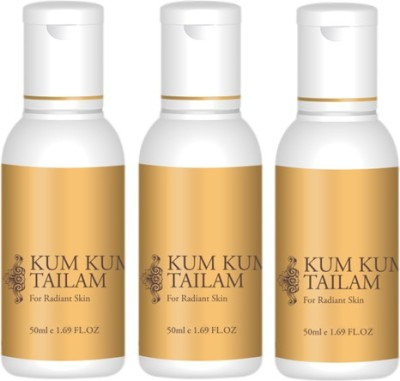 Kum Kumadi Tailam for Oil Skin (50ml) (Pack of 3)