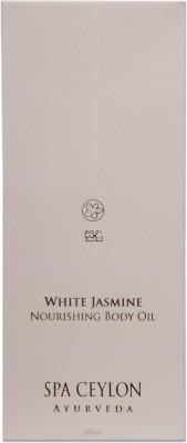 Spa Ceylon Luxury Ayurveda White Jasmine Nourishing Body Oil