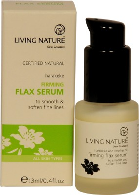 Living nature Firming Flax Beaut�� Serum with Rosehip Oil