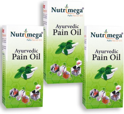 Nutrimega Ayurvedic pain relief oil (45 ml x 3)