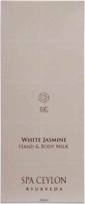 Spa Ceylon Luxury Ayurveda White Jasmine Hand & Body Milk