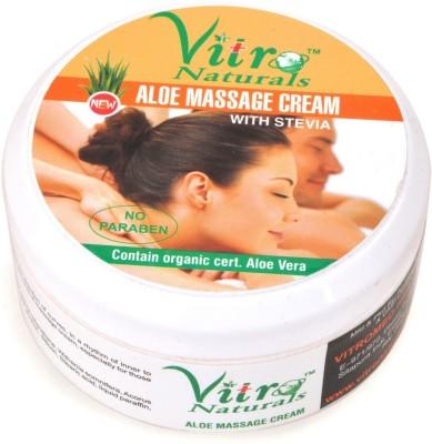 Vitro Naturals Aloe Massage Cream
