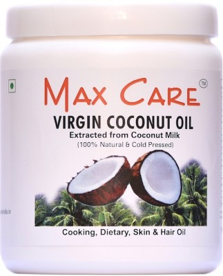 Maxcare Maxcare Virgin Coconut Oil (Cold Pressed) 500ML Wide Mouth(500 ml)