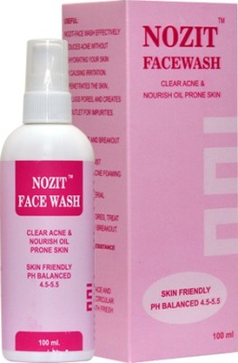 Nozit Face Wash Eleanor Cosmetics