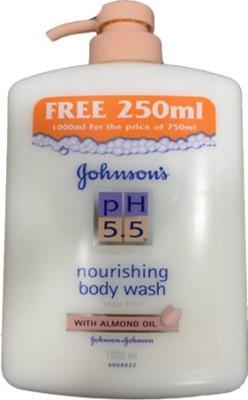 Johnson & Johnson Nourishing Body Ph 5.5 Body Wash Imported