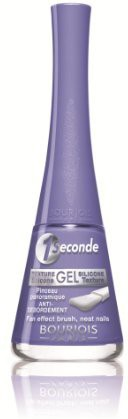Bourjois 1 Seconde No. 09 Lavande Esquisse Nail Polish for Women, 0.3 Ounce(295 g)