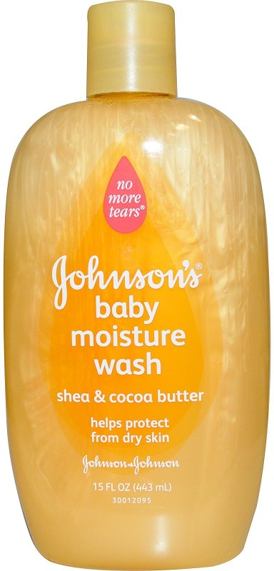 Johnson's Baby MOISTURE WASH VANILLA OATMEAL(443 ml)