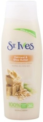 St. Ives Oatmeal And Shea Butter Body Wash Gently Soothes Dry Skin