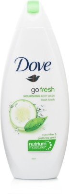 Dove Go Fresh nutrium Moisture With Cucumber & Green Tea Scent Fresh Touch Body Wash
