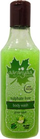 aaranyaa Sulphate free body wash Green apple