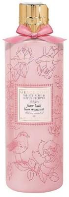 Grace Cole White Rose & Lotus Flower Indulgent Foam Bath