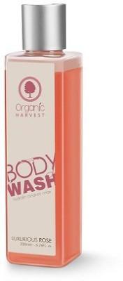 Organic Harvest Luxurious Rose Body Wash