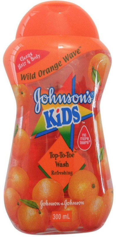 Johnson's Baby Kids Top-To-Toe Wash (Wild Orange Wave) (Imported)(300 ml)