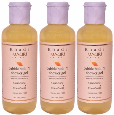 Khadimauri Shower Gel - Pack of 3 - Premium Herbal