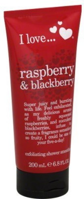 I Love Love I love Exfoliating Shower Smoothie Raspberry & Blackberry 200