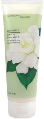 Bath & Body Works Gardenia Pleasures Collection Creamy at flipkart