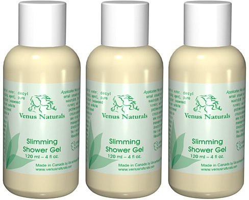 Venus Naturals Body Slimming Shower Gel With Pure Marine Algae Serum, 3 - Bottles(118.28 ml)