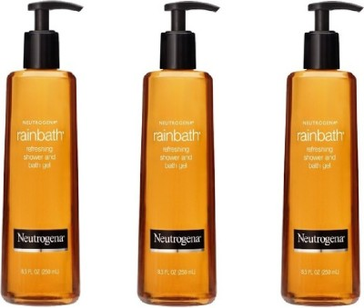Neutrogena Rainbath Refreshing Shower and Bath Gel Pack of 3
