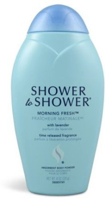 Shower To Shower Shower to Shower Morning Fresh Body Powder Pack of 3(240 ml)