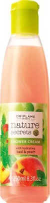 Oriflame Nature Secrets Shower Cream With Hydrating Basil & Peach
