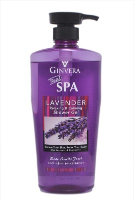 Ginvera Lavender Relaxing & Calming Shower Gel
