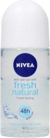Nivea Fresh Natural Deodorant Roll On - For Women