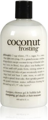 Philosophy Coconut Frosting Shampoo/Shower Gel/Bubble Bath(450 ml)