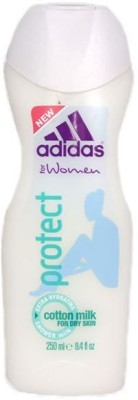 Adidas Protect Extra Hydrating Cotton Milk For Dry Skin